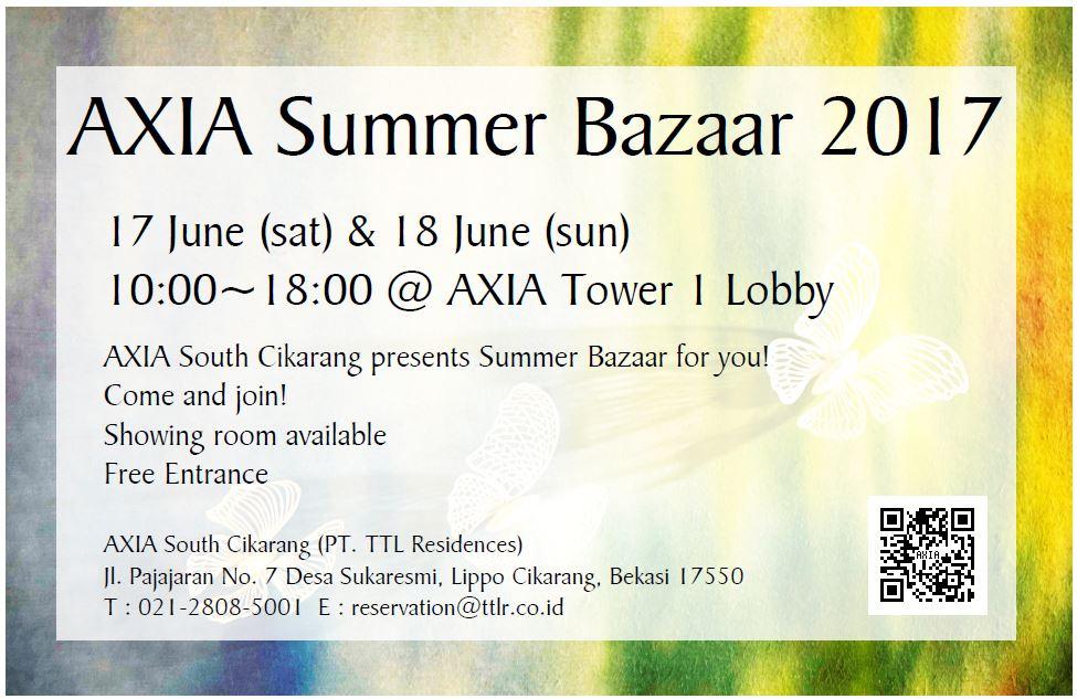 AIXA Summer Bazaar