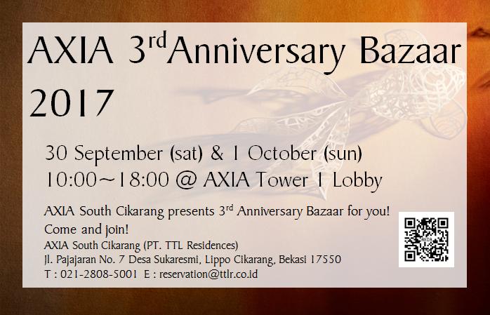 axia anniversary bazaar