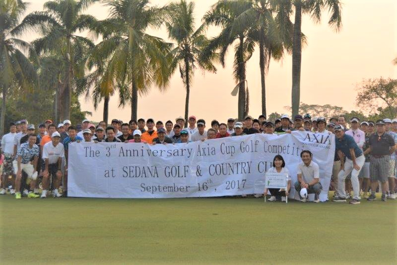 axia golf competition