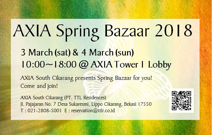 AXIA Spring Bazaar